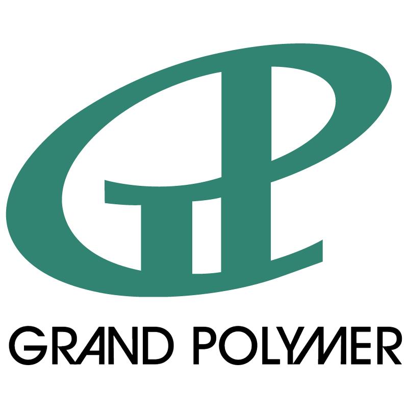 Grand Polymer vector logo