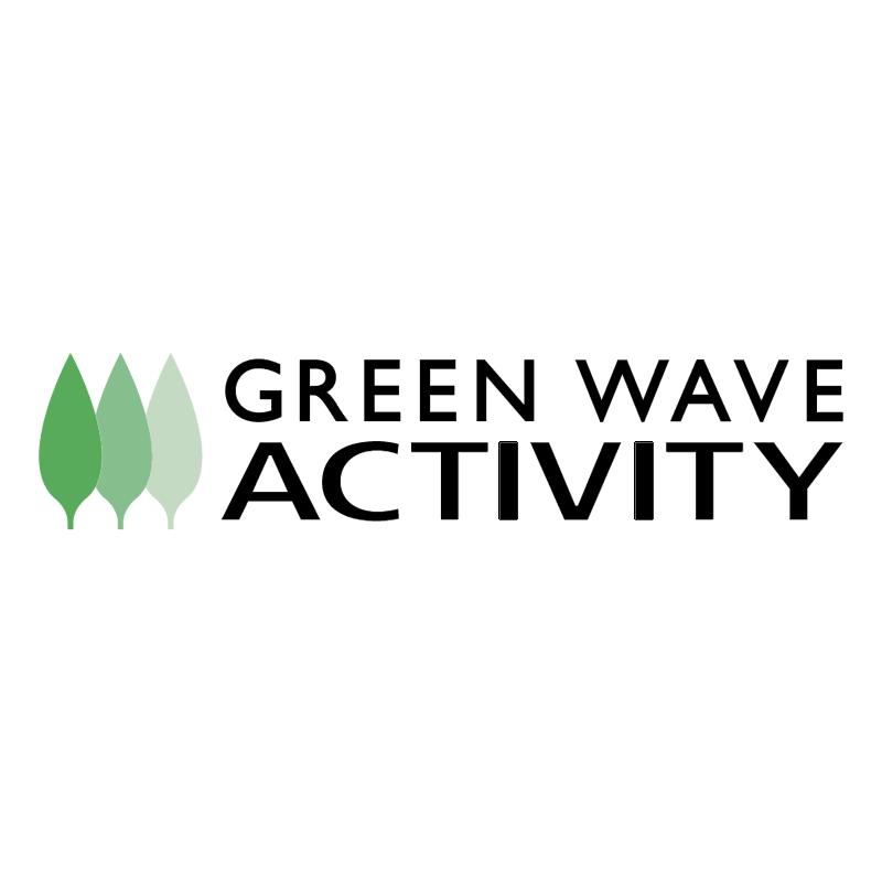 Green Wave Activity vector