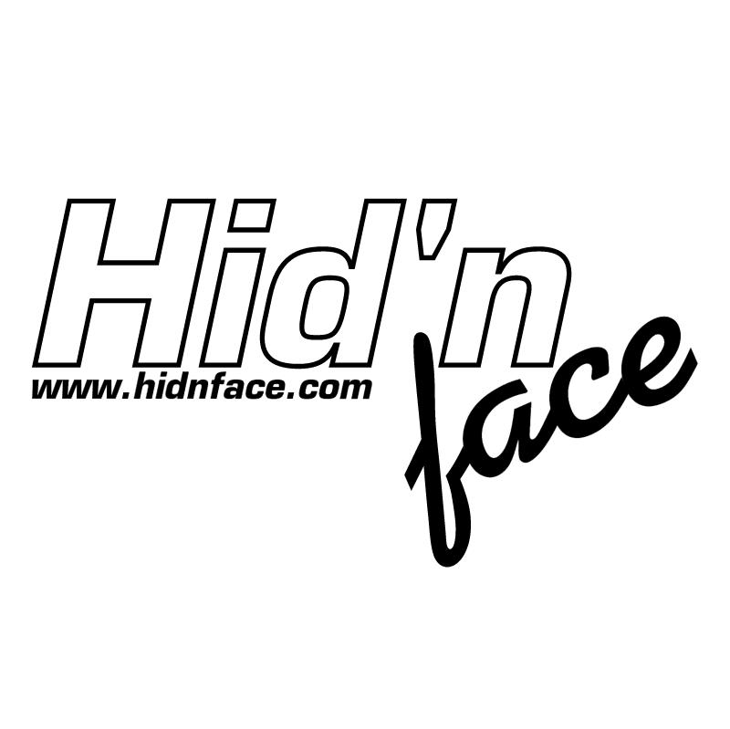 Hid'n face vector