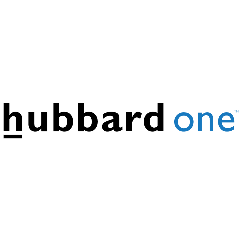 Hubbard One vector logo
