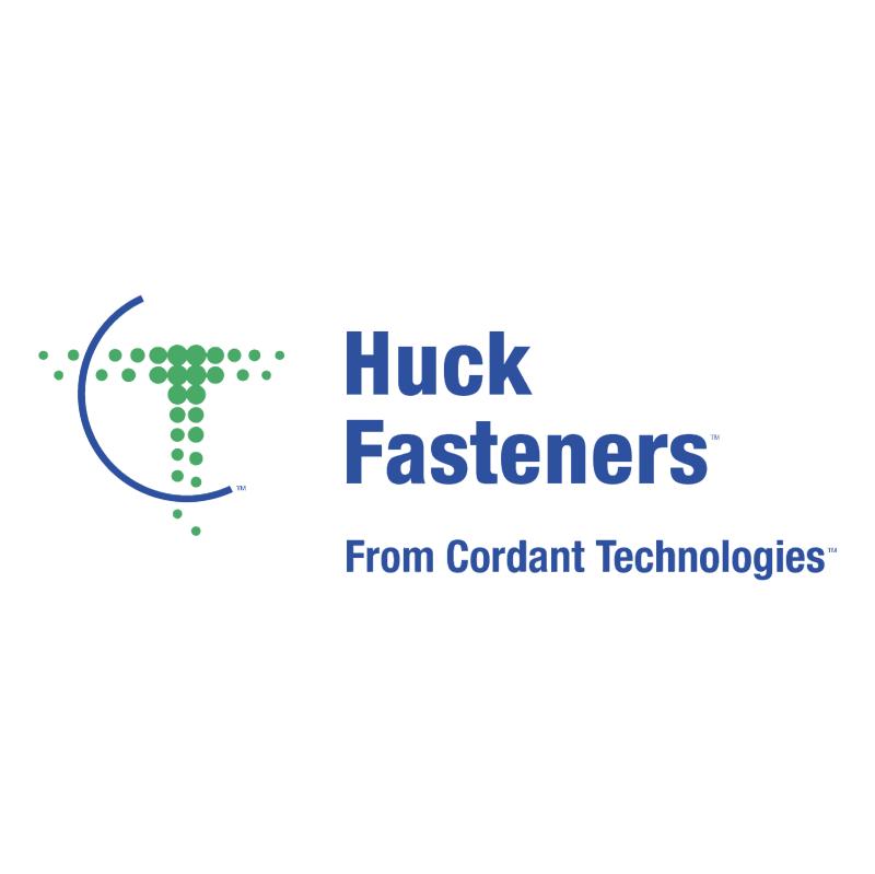 Huck Fasteners vector