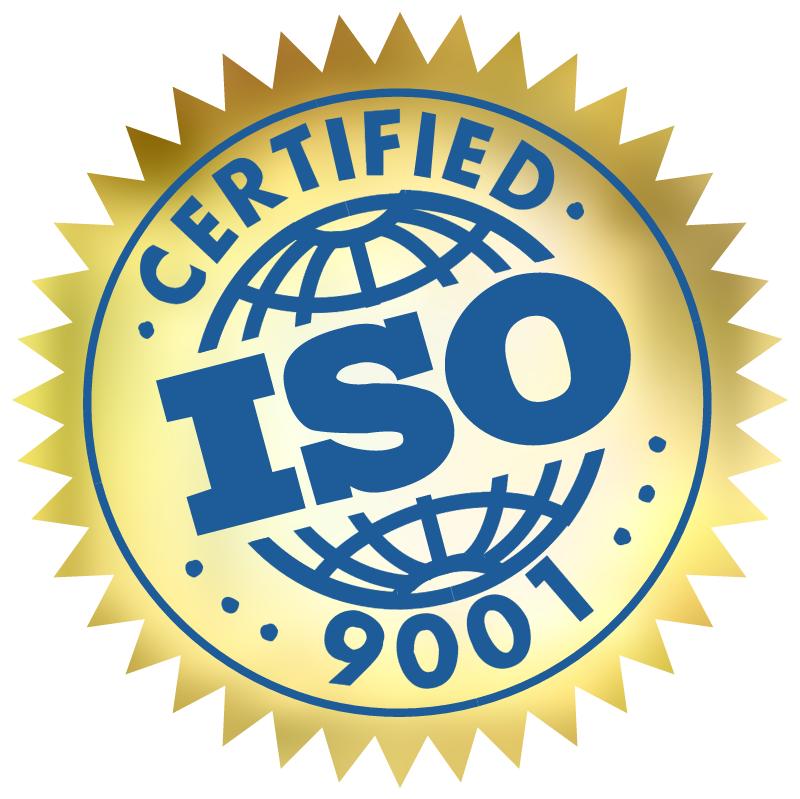 ISO 9001 Certified vector logo