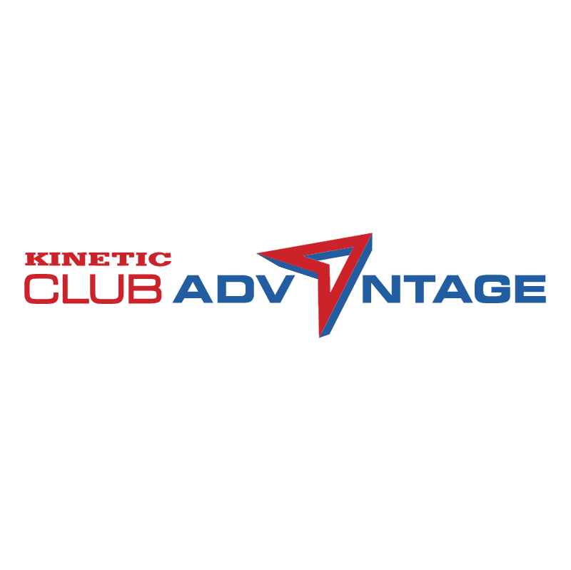 Kinetic Club Advantage vector logo