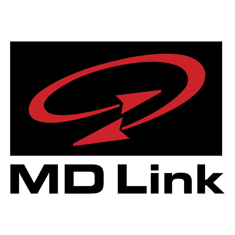 MD Link vector logo