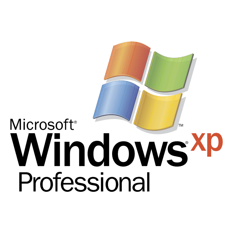 Microsoft Windows XP Professional vector