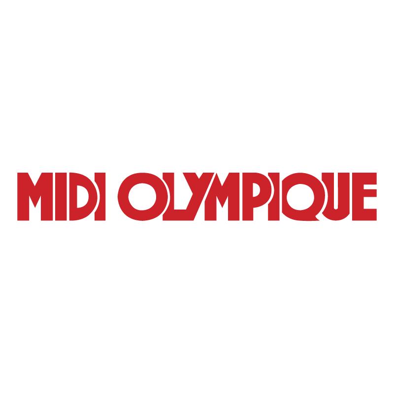 Midi Olympique vector