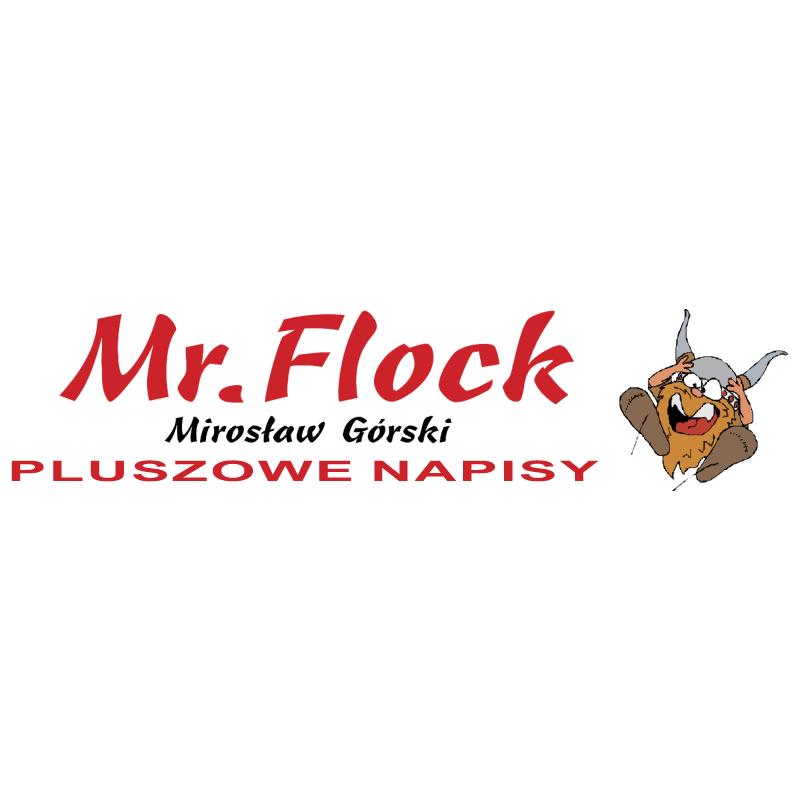 Mr Flock vector logo
