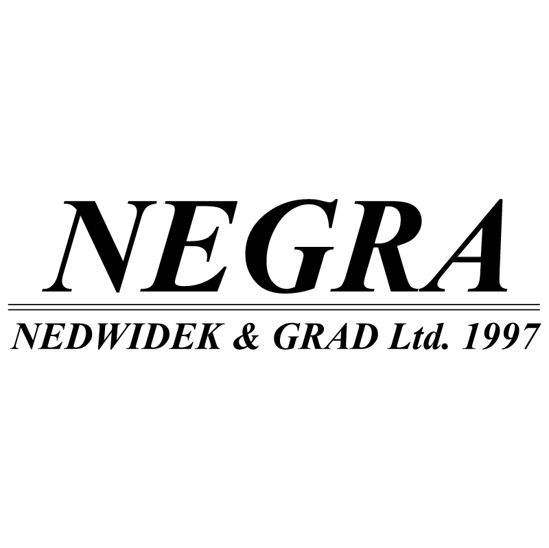 Negra vector logo