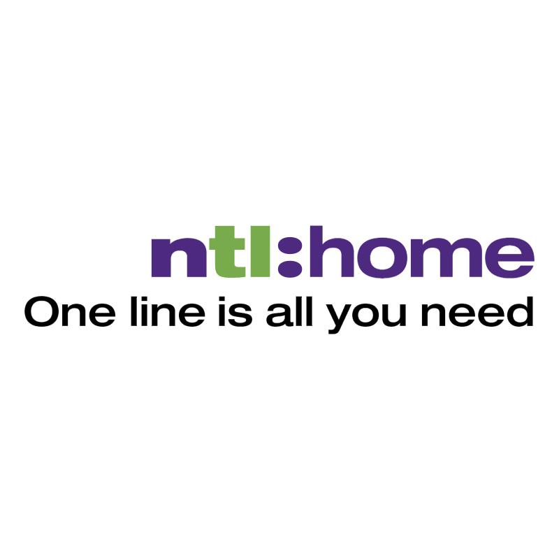 NTL Home vector logo