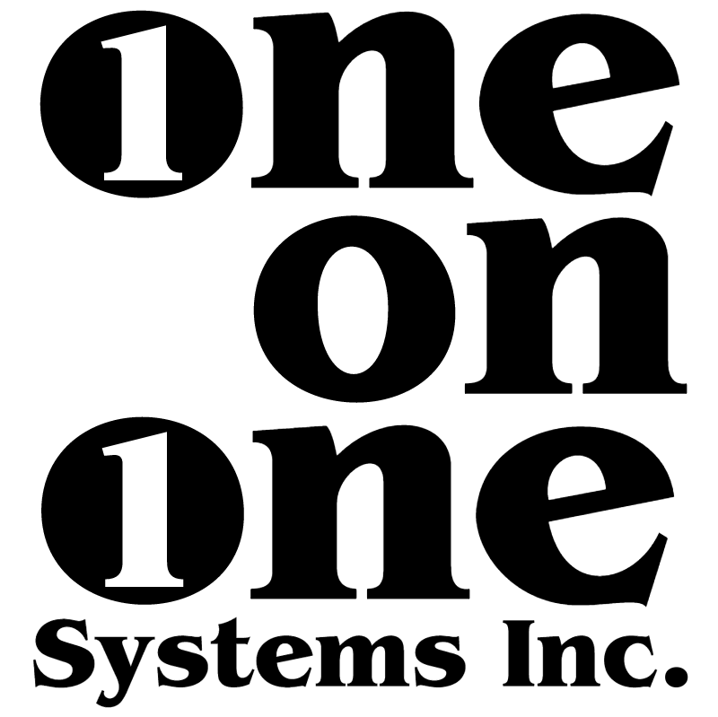 One on One Systems vector