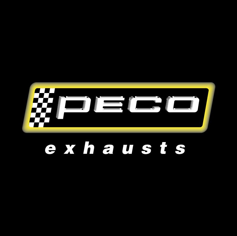 Peco exhaust vector logo