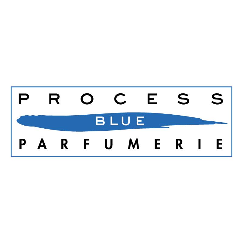 Process Blue Parfumerie vector