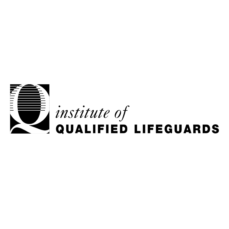 Qualified Lifeguards vector
