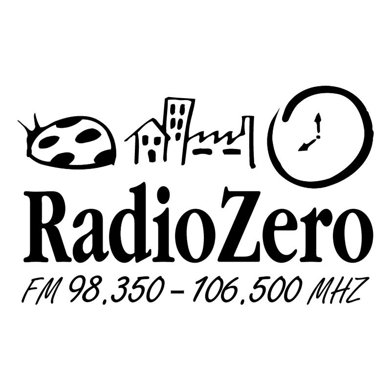 Radio Zero vector logo
