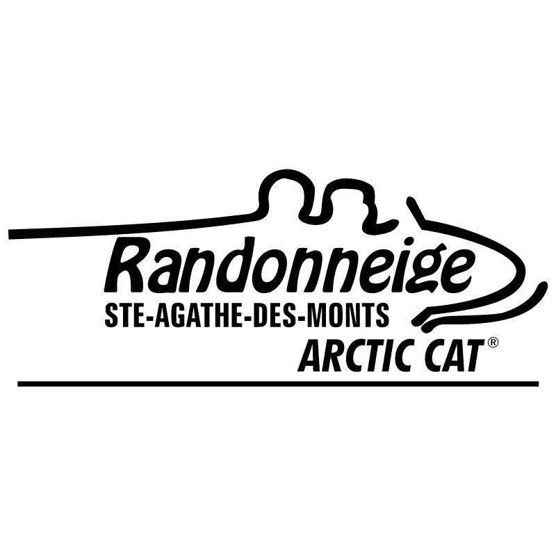 Randonneige Arctic Cat vector