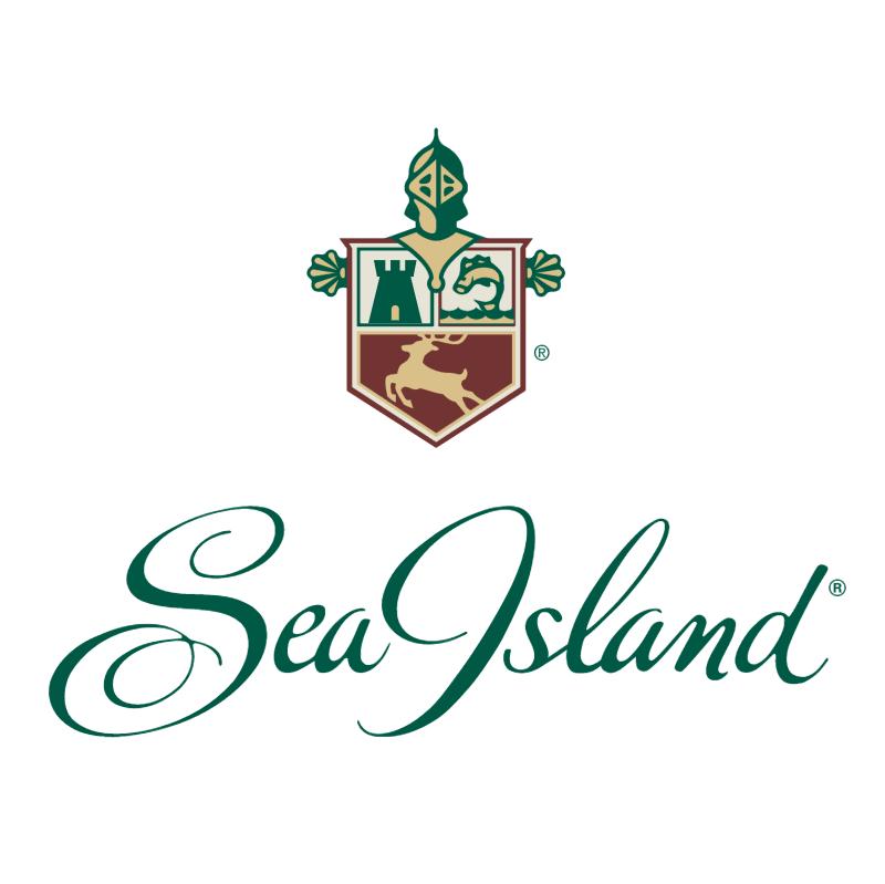 Sea Island vector logo