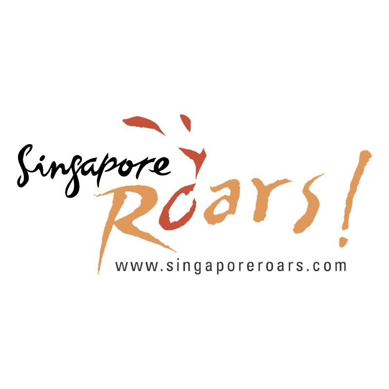 Singapore Roars! vector