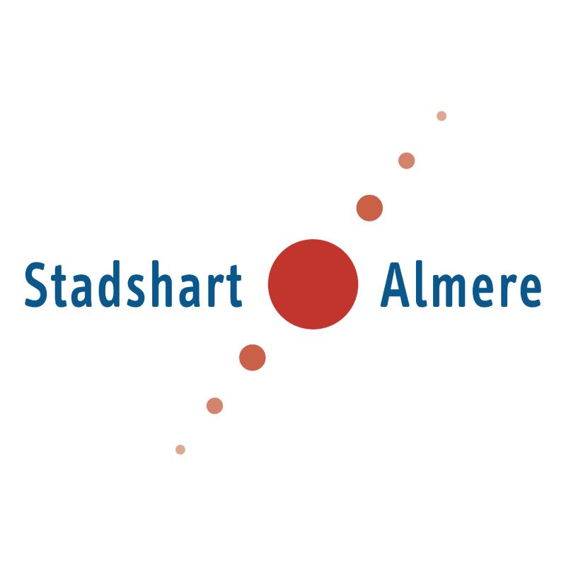 Stadshart Almere vector