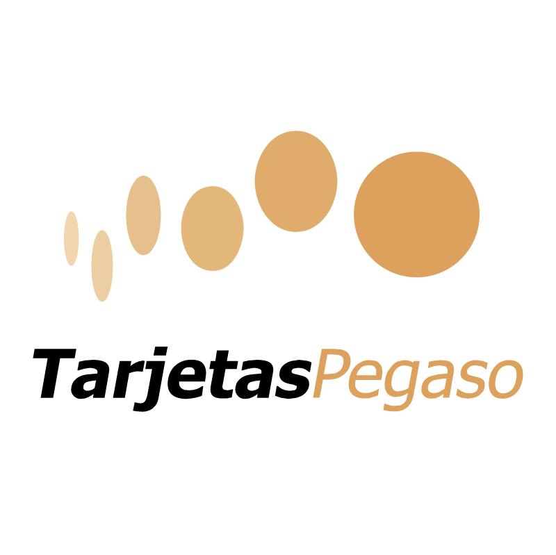 Tarjetas Pegaso vector logo