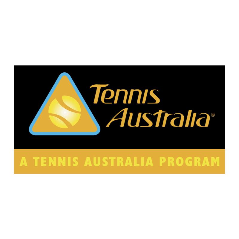 Tennis Australia vector