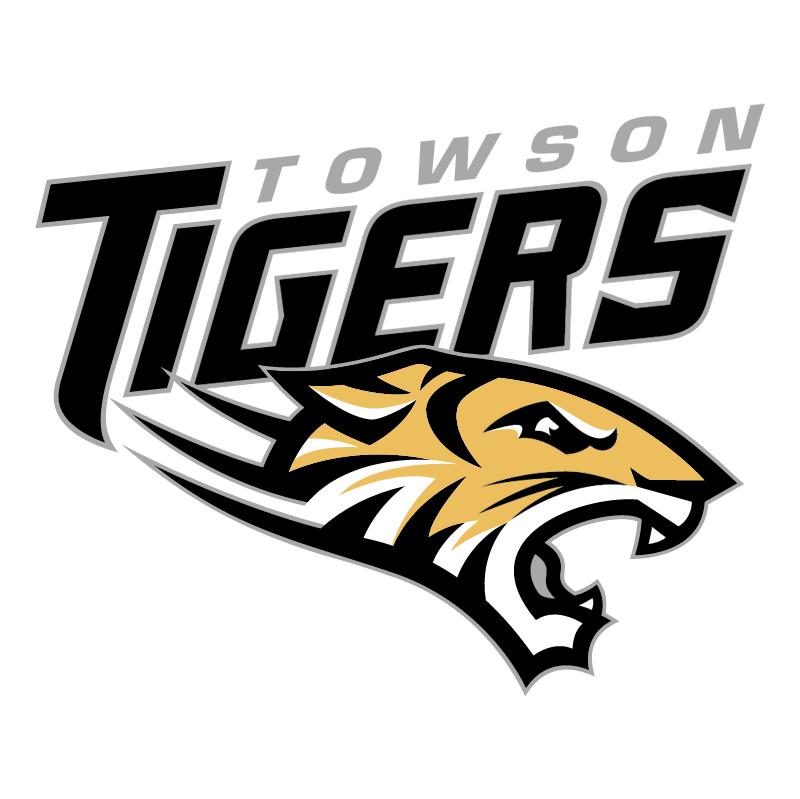 Towson Tigers vector logo