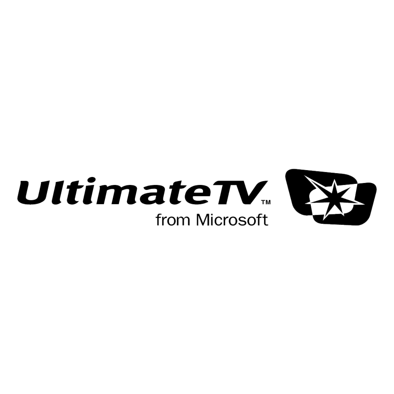 UltimateTV vector logo