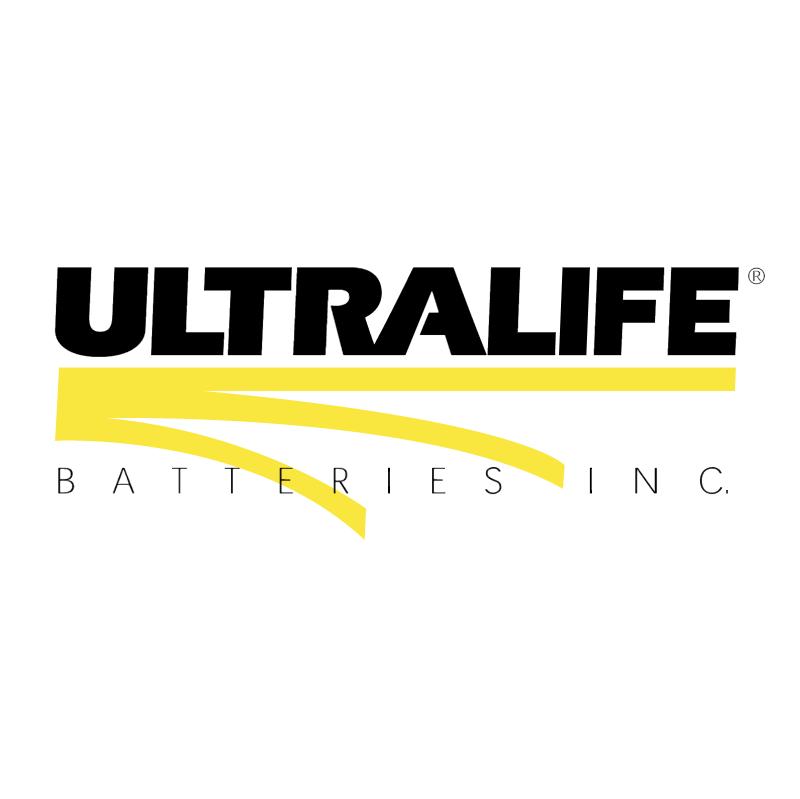 Ultralife Batteries vector