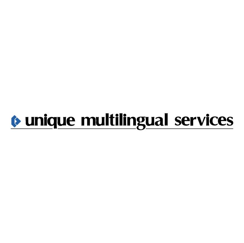 Unique Multilingual Services vector