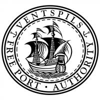 Ventspils Freeport vector