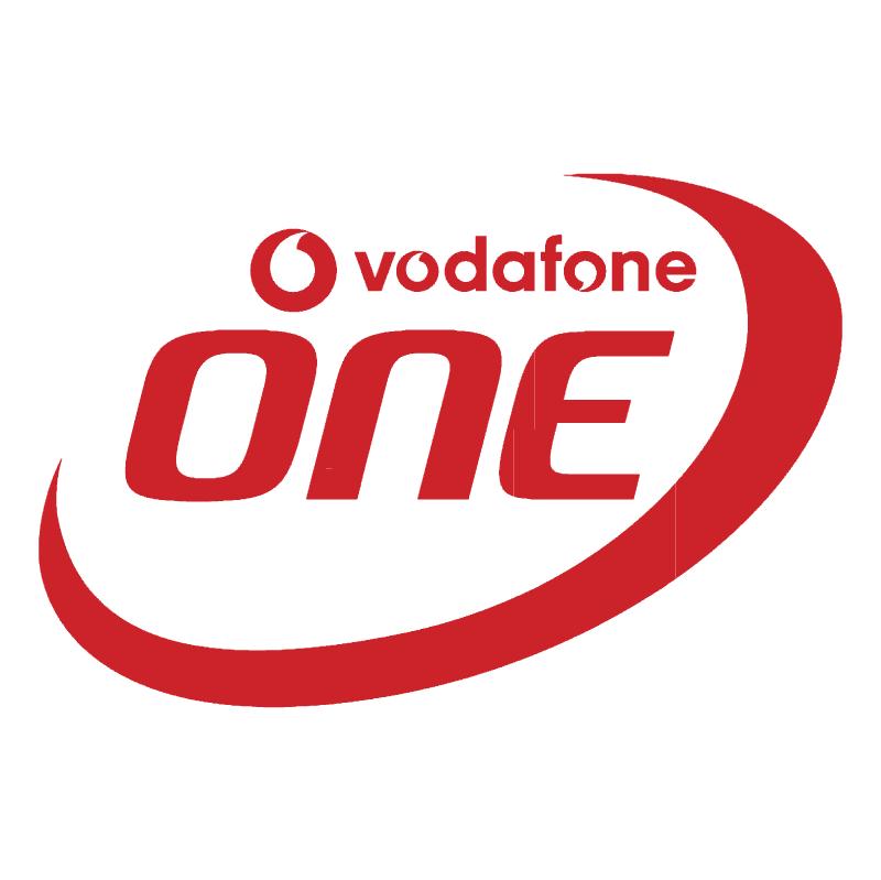 Vodafone One vector