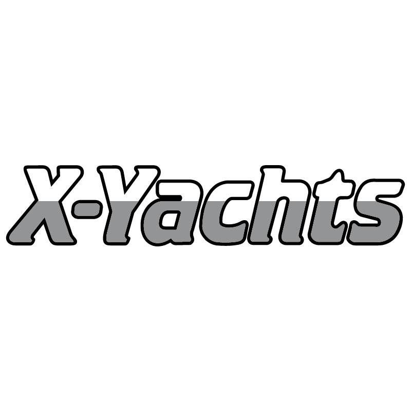 X Yachts vector