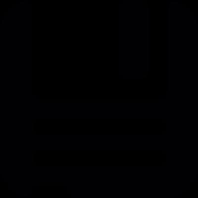 Floppy disk vector logo
