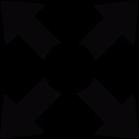 Full screen button vector