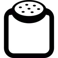Salt-cellar vector