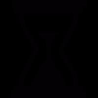Hourglass vector
