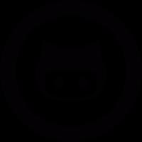 GitHub logo vector