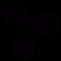 Boat propeller vector