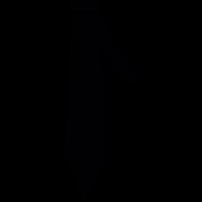 Black Tie vector logo