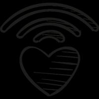 Caring bridge logo vector