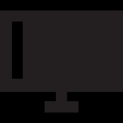 Television  Screen vector logo