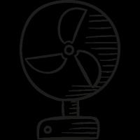 Desk Ventilator vector