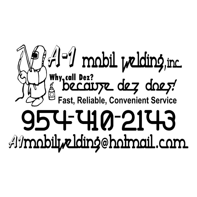 A 1 Mobil Welding, Inc vector