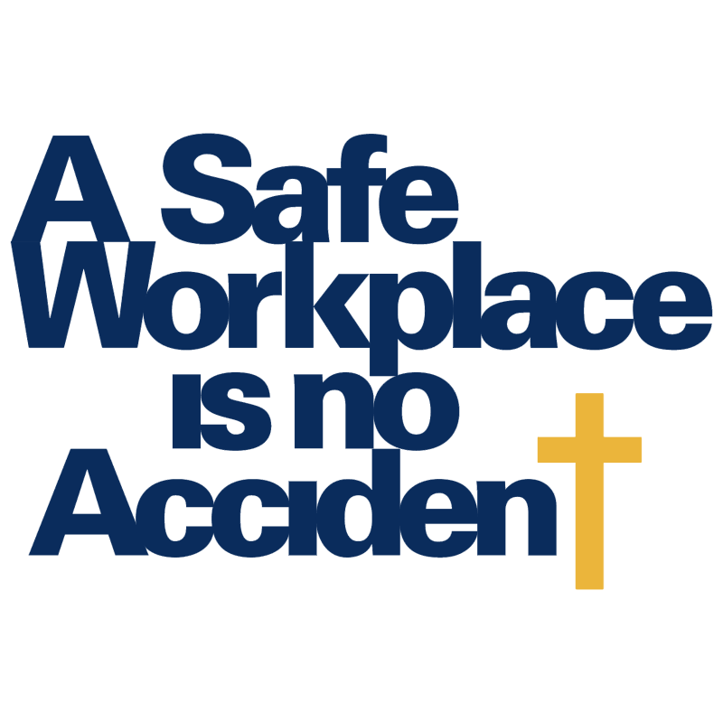 A Safe Workplace is no Accident vector