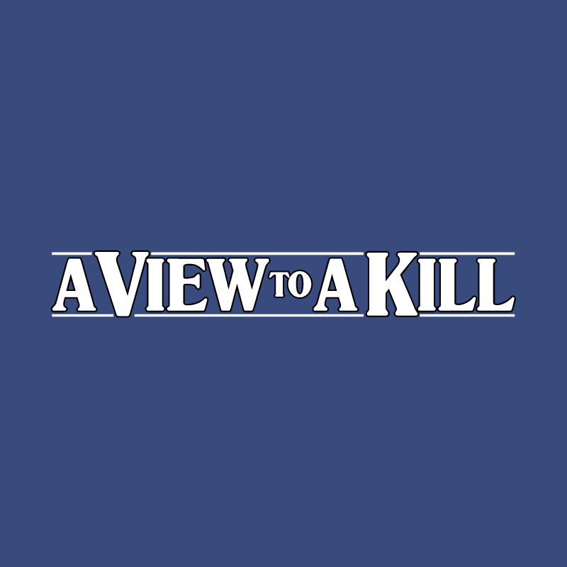 A View To A Kill vector