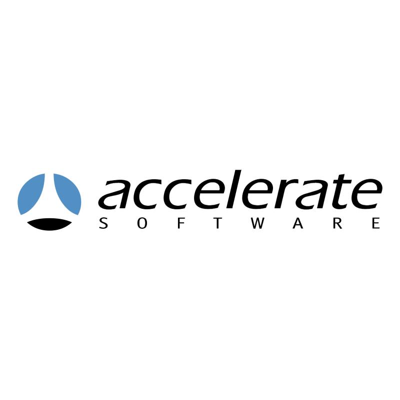 Accelerate Siftware vector logo
