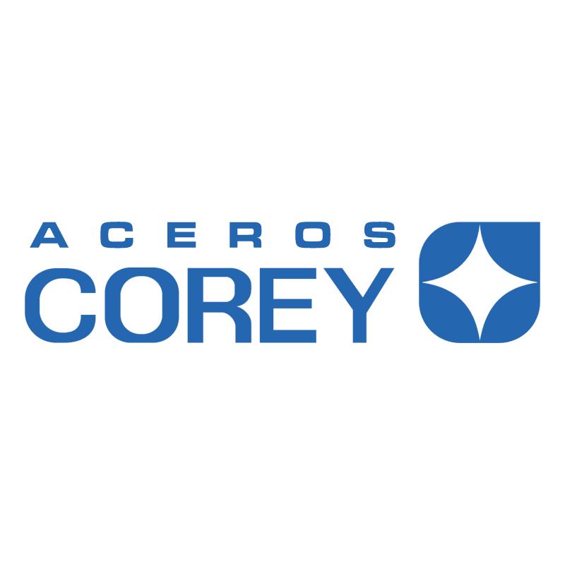 Aceros Corey vector