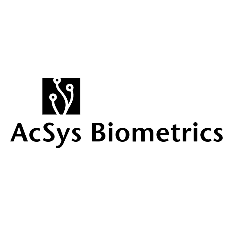 AcSys Biometrics 74156 vector