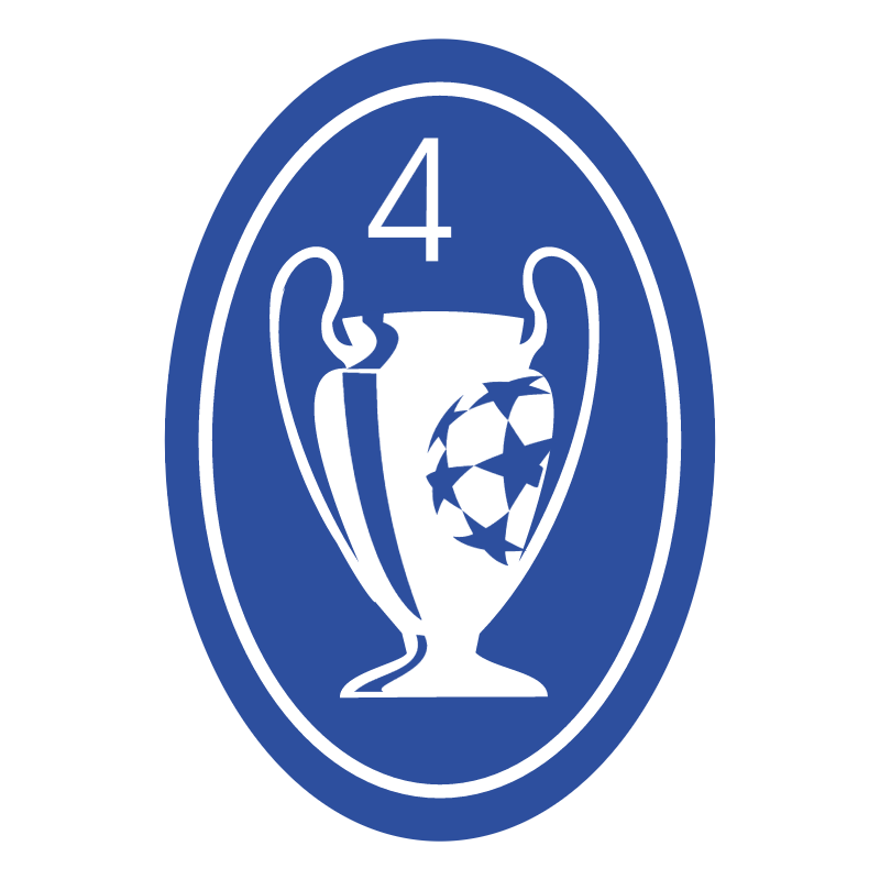 Ajax Champions Badge 75883 vector