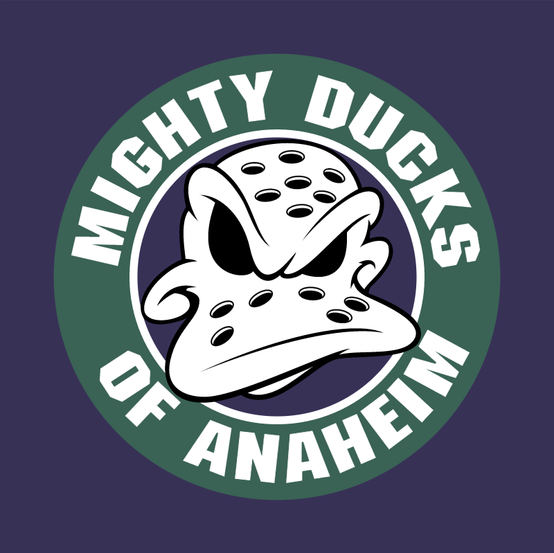Anaheim Mighty Ducks 76870 vector
