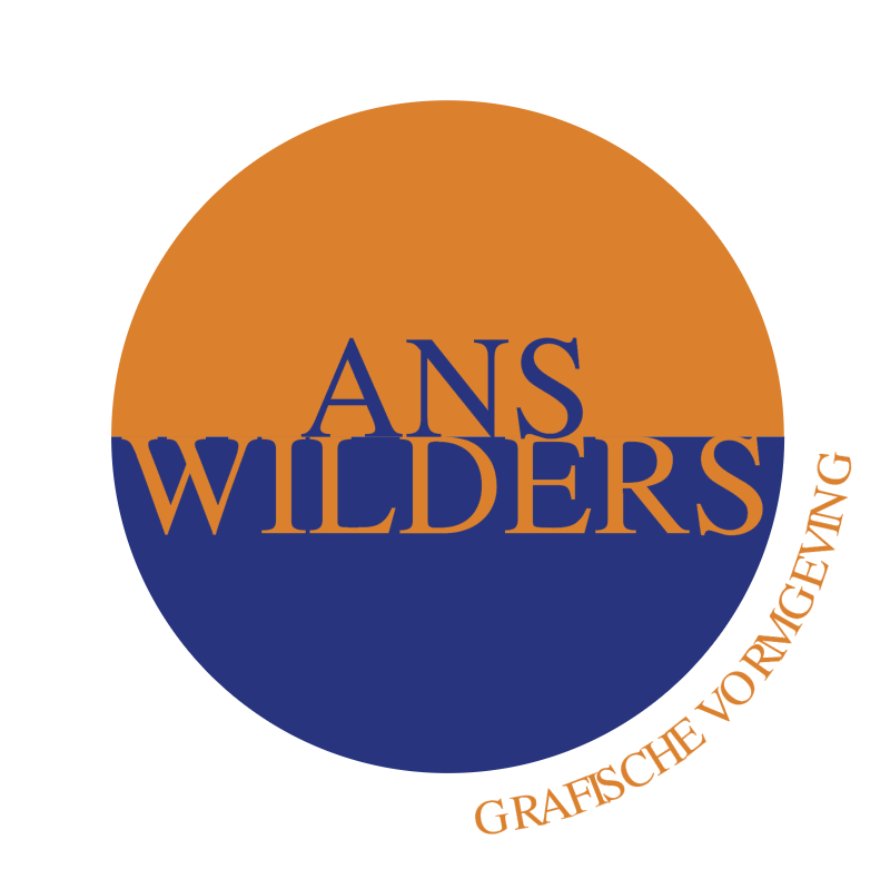 Ans Wilders Grafische vormgeving vector